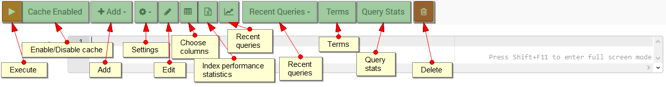 Figure 1. Studio. Query View.