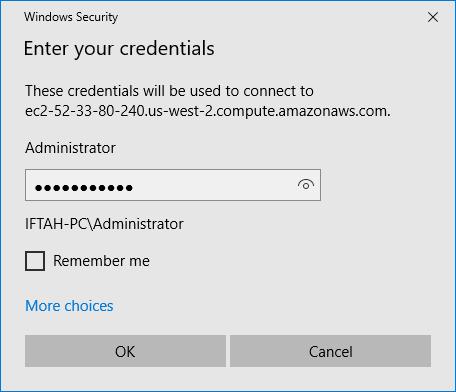 Setup Examples: AWS Windows VM | RavenDB 4 1 Documentation