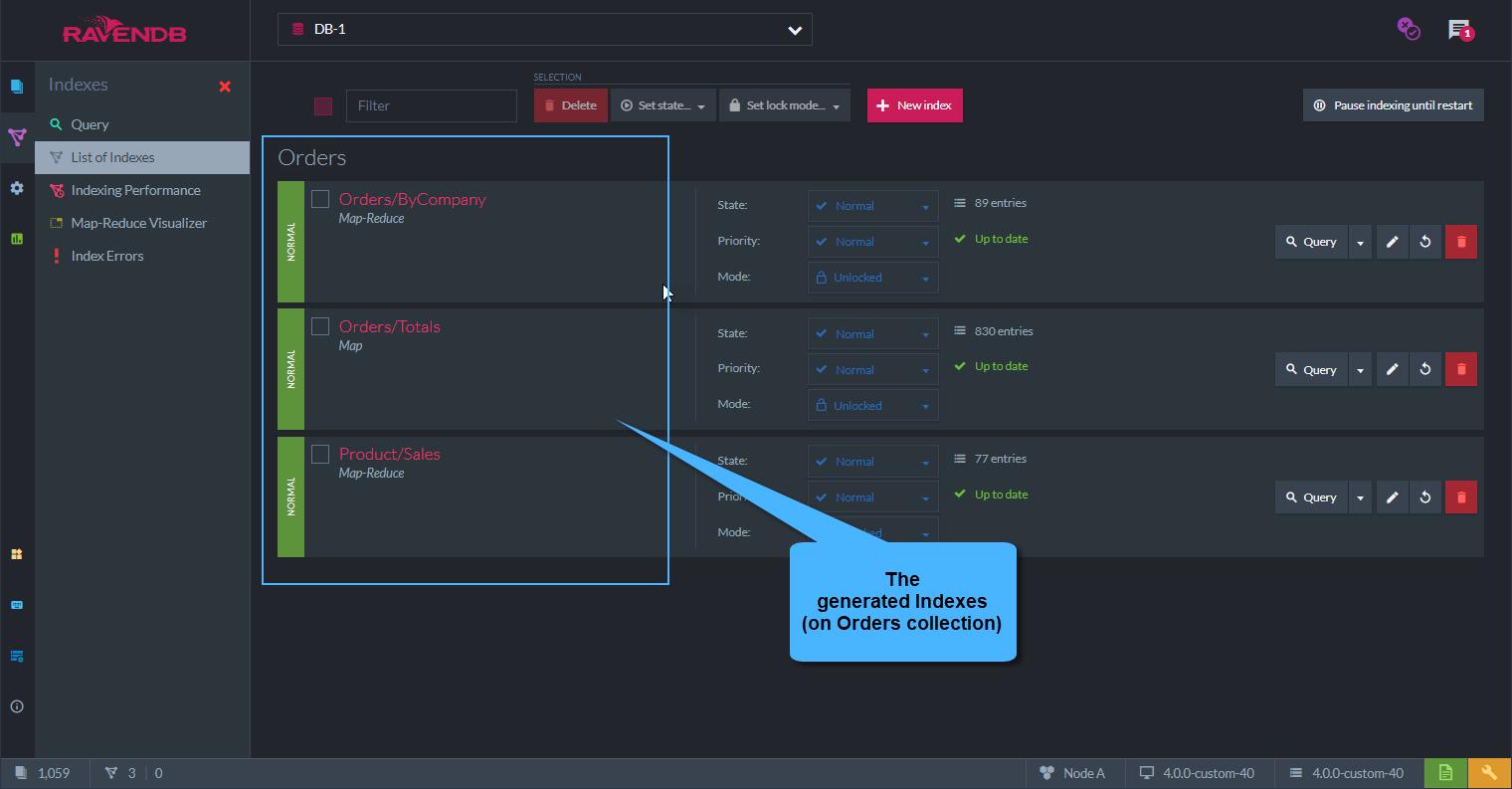 Creating Sample Data | RavenDB 4 1 Documentation