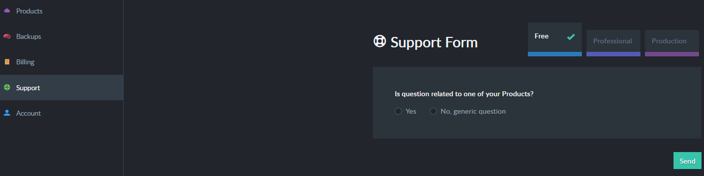 """Support Tab"""