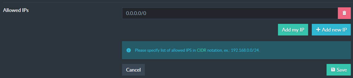 """Manage Product: Edit IPs"""