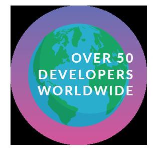 RavenDB employs over 50 developers worldwide