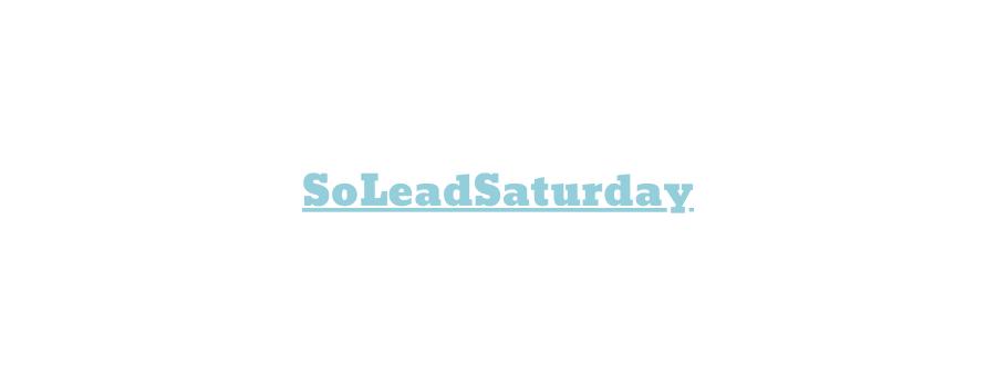 #SoLeadSaturday Episode 37 – Oren Eini