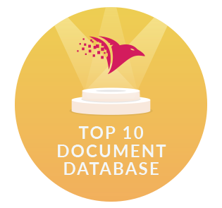 One of the top 10 Document Databases Worldwide