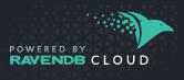 RavenDB Cloud Dark Badge