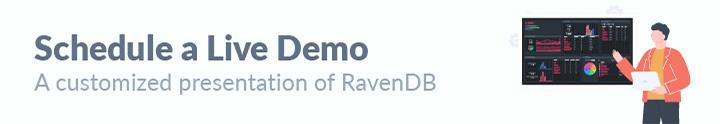 Schedule a FREE Demo of RavenDB
