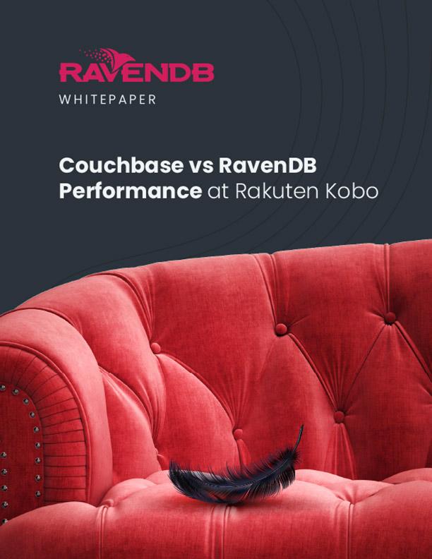 Couchbase vs RavenDB: Performance at Rakuten Kobo Whitepaper Cover